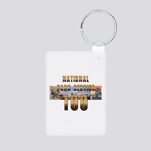ABH NPS 100th Anniversary Aluminum Photo Keychain