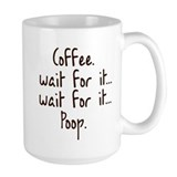 Coffee humor Large Mugs (15 oz)