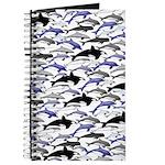 Swim in Dolphins Pattern B Journal