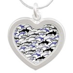 Swim in Dolphins Pattern B Necklaces