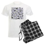 Swim in Dolphins Pattern B Pajamas