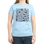 Swim in Dolphins Pattern B T-Shirt