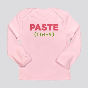 Paste (ctrl+v) Baby Long Sleeve T-Shirt