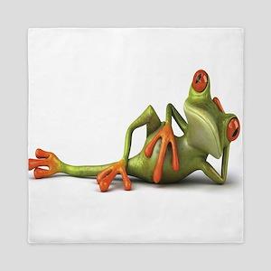 Frog Queen Duvet