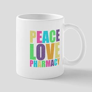Peace Love Pharmacy Mug