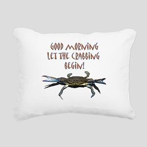 crabB Rectangular Canvas Pillow