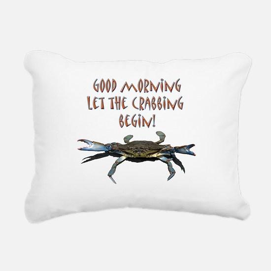crabB.png Rectangular Canvas Pillow