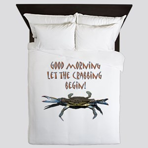 crabB Queen Duvet