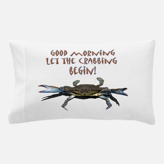 crabB.png Pillow Case