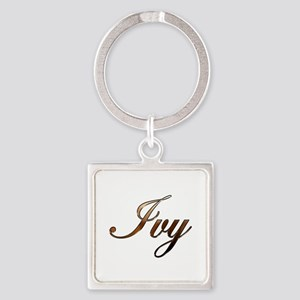 Ivy Square Keychain
