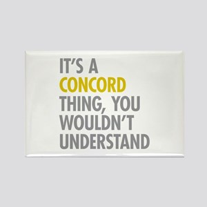 Concord NY Thing Rectangle Magnet