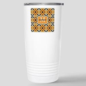 Faux Fur Pattern Custom Stainless Steel Travel Mug