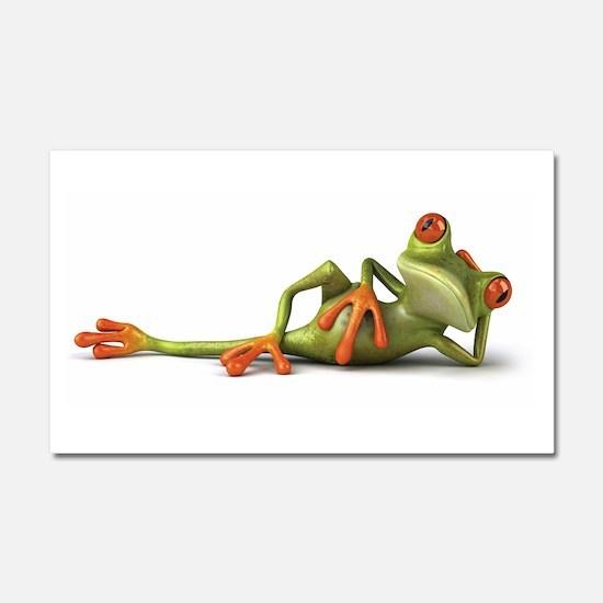 Frog Car Magnet 20 x 12