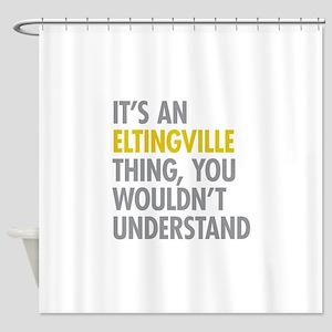 Eltingville NY Thing Shower Curtain