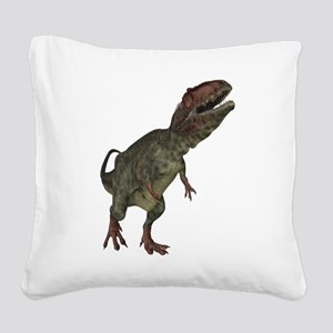 Giganotosaurus 2 Square Canvas Pillow