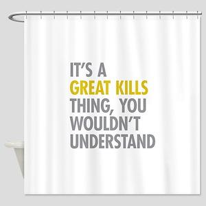 Great Kills NY Thing Shower Curtain