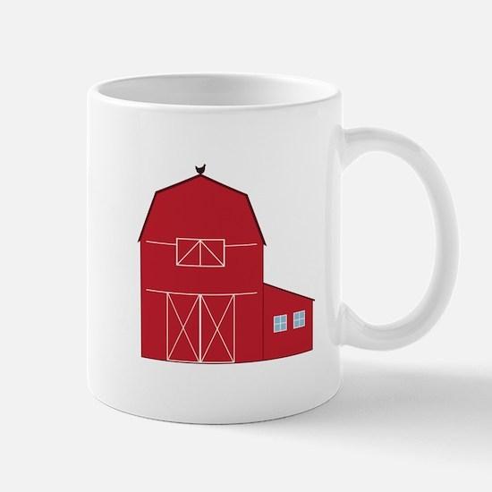 Red Barn Mugs