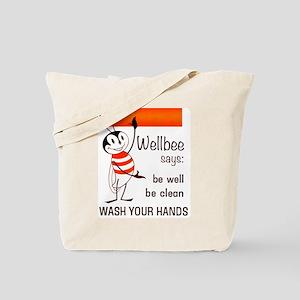 Wellbee Says, 1964 Tote Bag