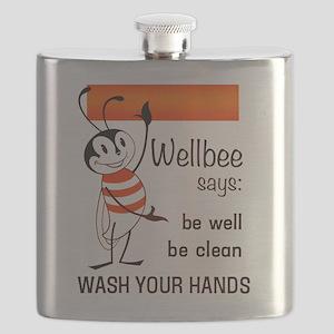 Wellbee Says, 1964 Flask