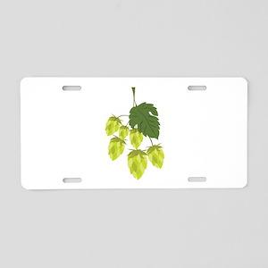 Hops Aluminum License Plate