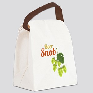 Beer Snob Canvas Lunch Bag