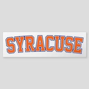 Syracuse - Jersey Bumper Sticker