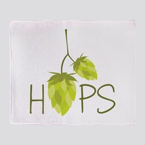 Hops Throw Blanket