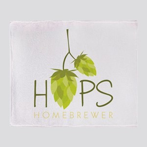 Homebrewer Throw Blanket