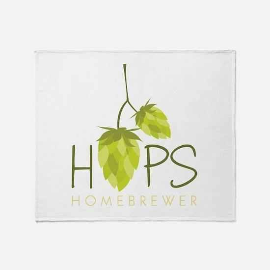 Homebrewer Throw Blanket