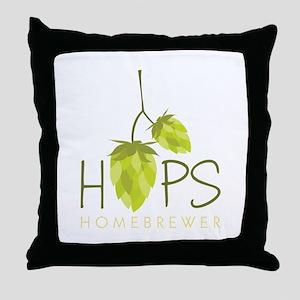 Homebrewer Throw Pillow