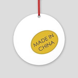 Madeinchina Ornament (round)
