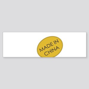 MadeInChina Bumper Sticker