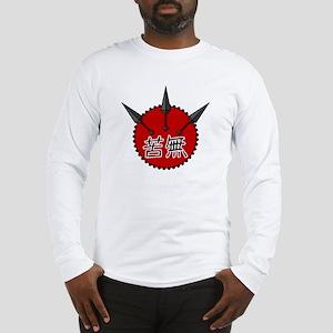 Kunai Kanji Long Sleeve T-Shirt