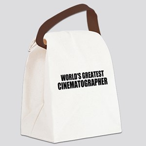World's Greatest Cinematographer Canvas Lunch Bag