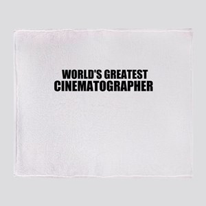 World's Greatest Cinematographer Throw Blanket