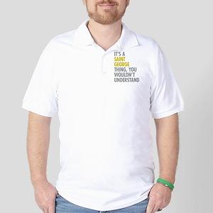 Saint George NY Thing Golf Shirt