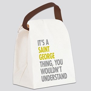 Saint George NY Thing Canvas Lunch Bag