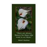 There are Always Flowers Wall Decal