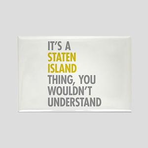 Staten Island Thing Rectangle Magnet