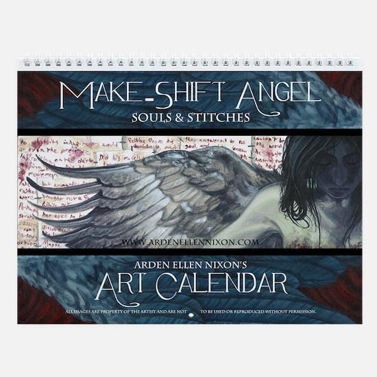 Make-Shift Angel Art Calendar Wall Calendar