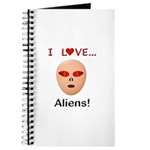 I Love Aliens Journal