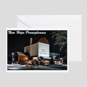 New Hope PA. Greeting Card