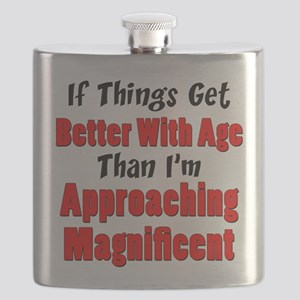 Better With Age Approaching Magnificent Flask