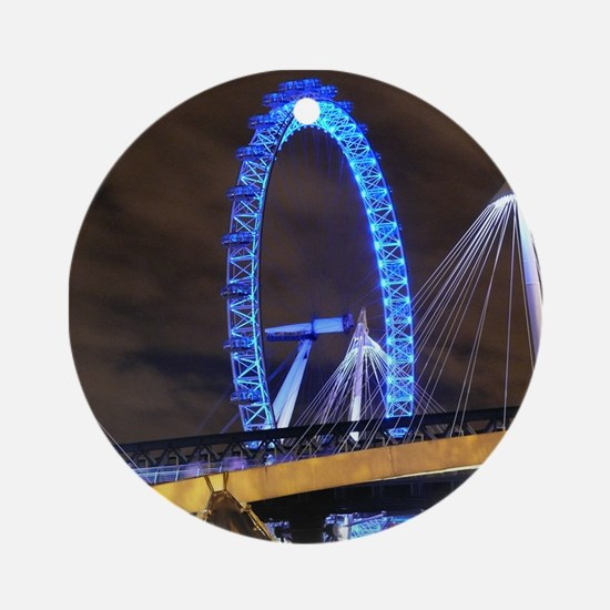 London Eye Lights up Ornament (Round)