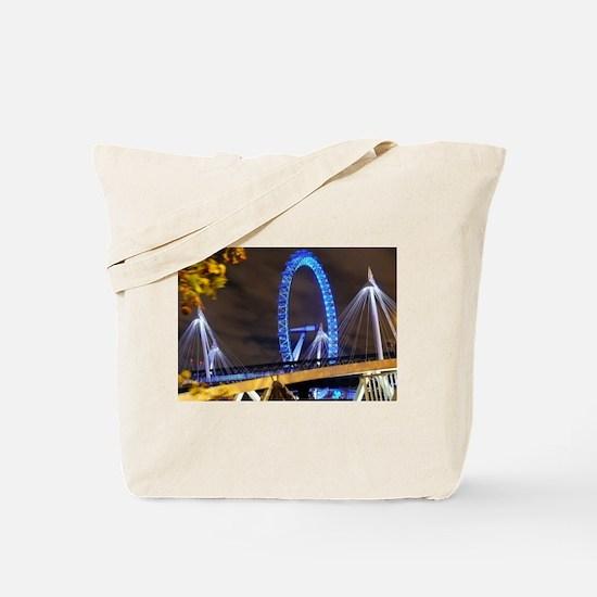 London Eye Lights up Tote Bag