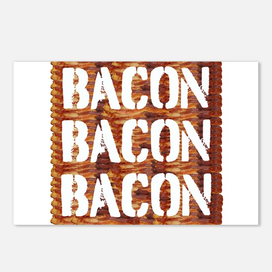 Bacon Bacon Bacon Postcards (Package of 8)