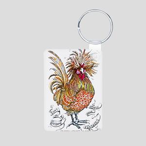 Chicken Feathers Keychains
