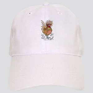 Chicken Feathers Baseball Cap