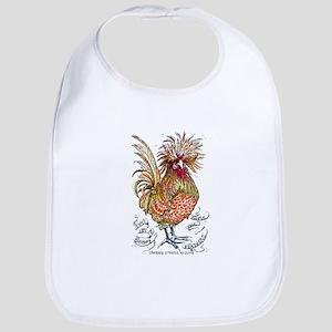 Chicken Feathers Bib