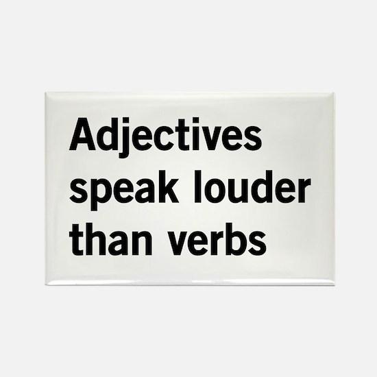 adjectives speak louder than words Magnets